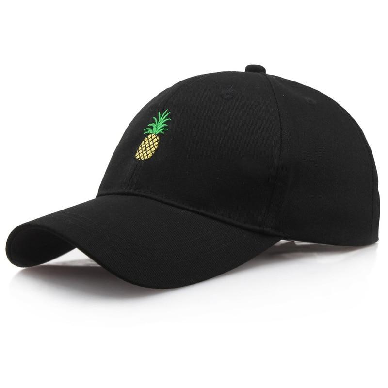 2019 Newest Stylish Hot Summer Women Adjustable Pineapple Baseball Hip Hop Kpop Bboy Cap Outdoor Sun Snapback Hats