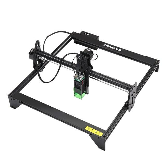 ATOMSTACK A5 20W Laser Engraver CNC 410*400mm Area Full metal Desktop DIY Engraving Cutting Carving Machine Logo Mark Printer|Wood Routers|   -