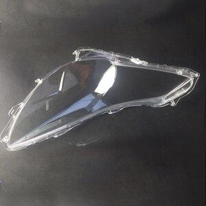 Image 3 - Para Subaru Legacy Outback 2010 2014 faróis Dianteiros faróis de vidro máscara de lâmpada tampa da lâmpada shell transparente máscaras de Vidro 2