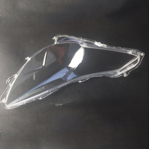 Image 3 - for Subaru Legacy Outback 2010 2014 Front headlights headlights glass mask lamp cover transparent shell lamp  masks  2  Glass