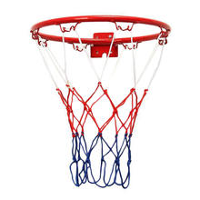 Баскетбольная цель обруча обода сетки 32 мм настенный обруч для внутреннего наружного детей