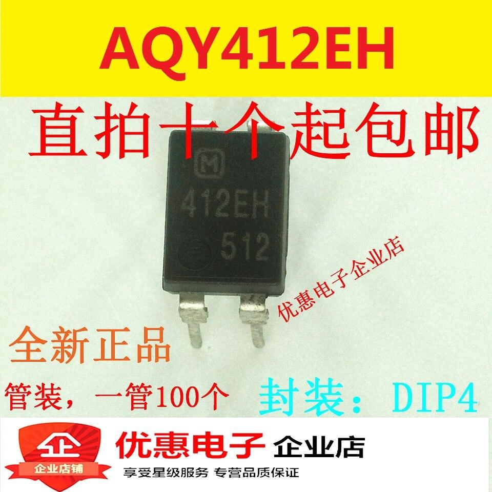 10PCS/LOT 412EH  AQY412EH DIP4  new original