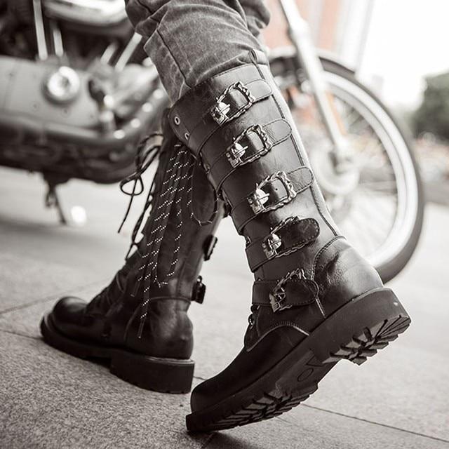 Men's Biker Boots 3