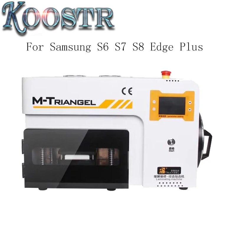 M Triangel MT 17S LCD OCA Laminating Bubble Remove Machine For Samsung S6 S7 S8 Edge