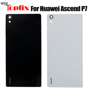 New Battery Back Cover For HuaWei Ascend P7 Housing Glass Battery Cover For HuaWei Ascend P7 Back Cover