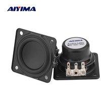 AIYIMA 2 sztuk HIFI 1.75 Cal głośnik pełnozakresowy 4 Ohm 6W długi skok neodymowy głośnik dla JBL głośnik Bluetooth naprawa części