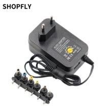 Wall-Plug Switching Charger Power-Supply 500ma Universal 9v 5v 1A 2A DC 30W 12v 3v 6v