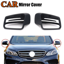 MagicKit Replacement Mirror Cover for Mercedes-Benz E C S Class W212 E300 W204 C300 W221 S350 W176 W117 Rearview Mirror Caps цена