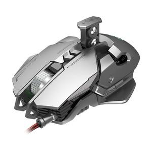 Image 5 - HXSJ 6400 DPI USB Wired תחרותי Gaming Mouse 7 לחצנים לתכנות מכאני הגדרת מאקרו תכנות משחק עכברים