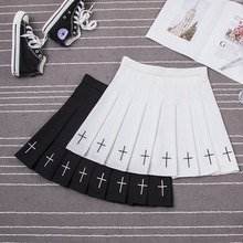 Skirt School-Uniforms Girl Japanese Women Solid Cute Mini Pleat Preppy-Style High-Waist