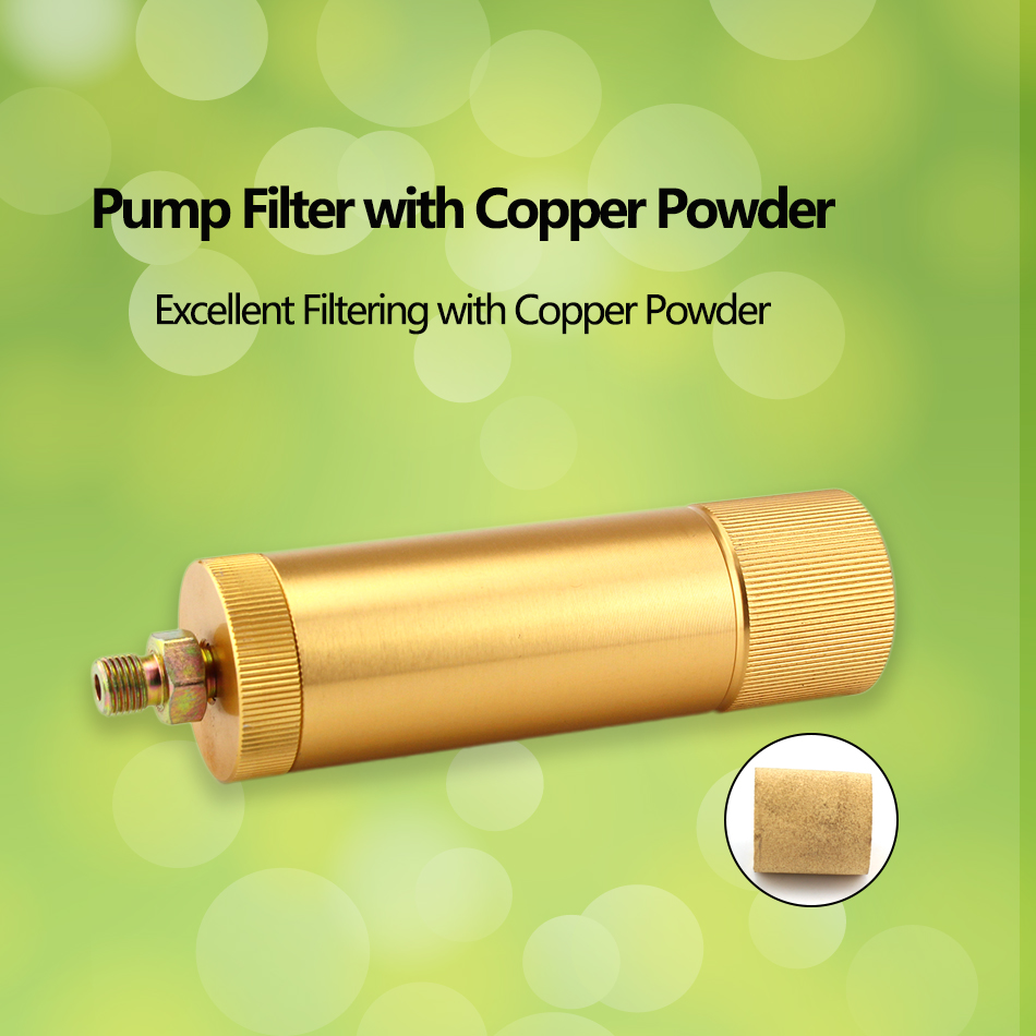 High Pressure Pump Filter PCP Paintball Airforce M10x1 40MPA COPPER POWDER FILTER ELEMENT Air Filtering 50cm Pressure Hose M10x1