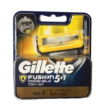 Original Gillette Fusion Shaving Blade Profiled Men Face Hair Removal Replacement Blades Head Razor Refills