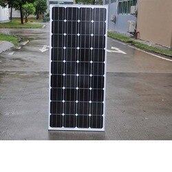 150w 900w 1050w 1200w 1350w 1500w Panel słoneczny 12v monokrystaliczny domowy system zasilania energią słoneczną karawana samochód kempingowy samochód kempingowy Rv łódź