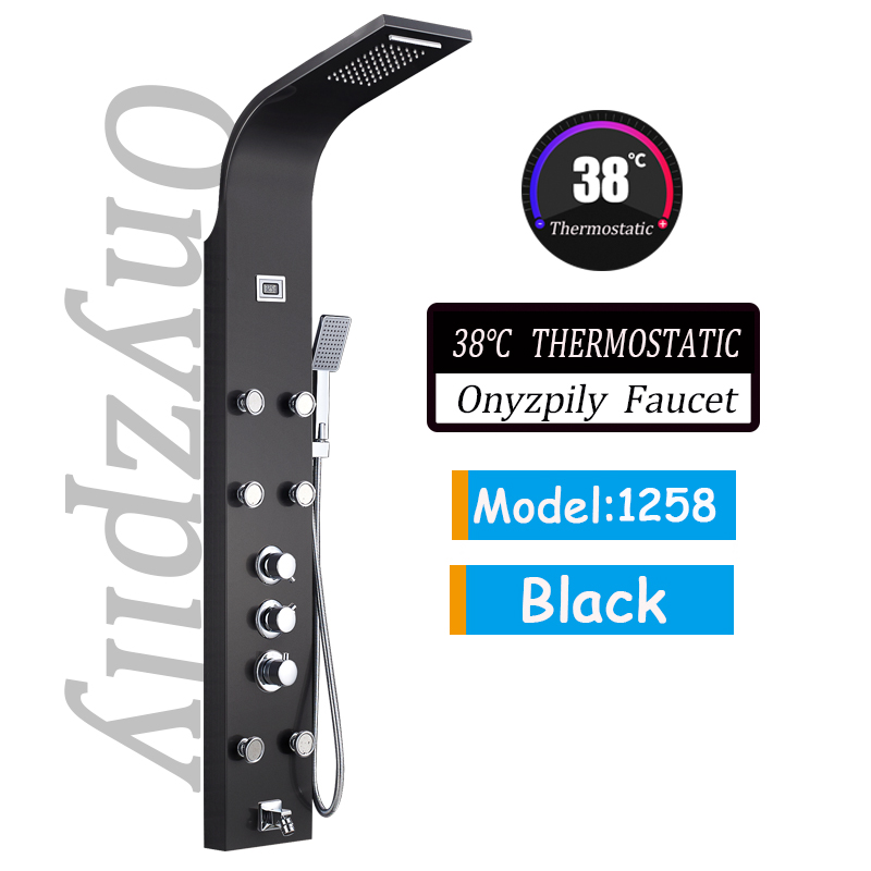 Black Thermostatic