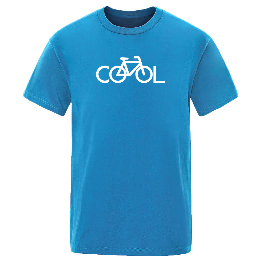 Bike Vintage Simple Print 2020 T Shirt Summer Hot Sale Handsome Casual Tshirts Solid Color Men Crew Neck Streetwear Short Sleeve