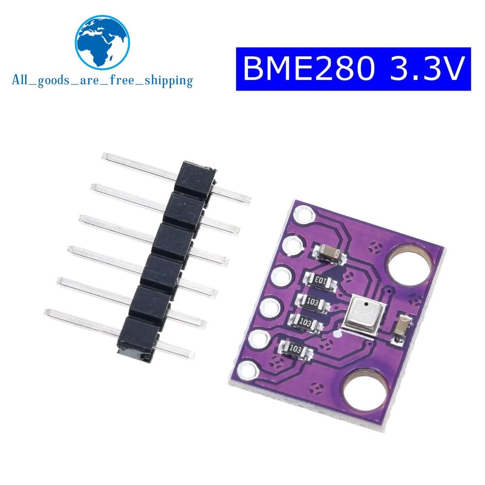 TZT BME280 1 PCS GY-BME280-3.3 precisão de pressão atmosférica altímetro módulo sensor para arduino