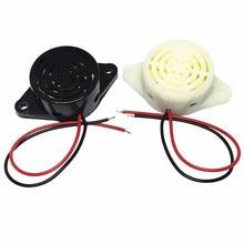 Высокой частоты сигнализации SFM-27 DC3-24V непрерывный звуковой зуммер звуковой сигнализатор черного и белого цвета