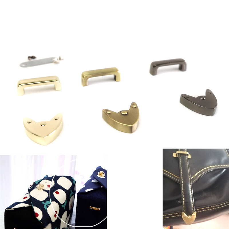 2cm Metal Strap Ends & Arch Bridge Screw Bag Accessories 1.90cm