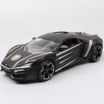 Jada 1:24 scales Lykan HyperSport supercar Diecasts & Toy Vehicles sports metal auto car models miniature for collection black image
