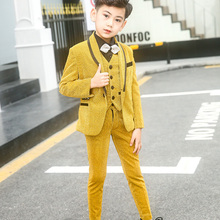 Boys Suits Blazer Formal Coat Slim Fit For Wedding Party Pia