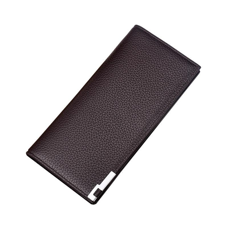 Male Purse Card-Holder Men's Wallets Bifold Slim Credit Solid Casual Short Business