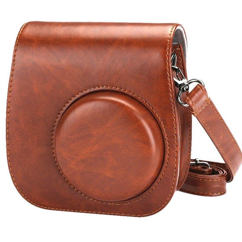 para fujifilm instax mini 8 + 9, clássico capa protetora bolsa
