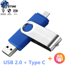 Memory-Stick Pen-Drive Phone Type-C Biyetimi 32GB 64GB 128GB OTG for Cpc Otg-2.0 Otg-2.0