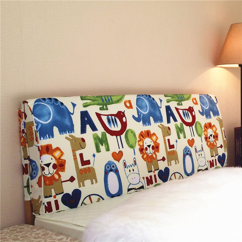Bedside Cushion Children's Tatami Customized Bedside Soft-packed Sponge Sofa Large Cushion Bed Large Backrest Long Pillow