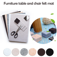 furniture table and chair felt mat Self Adhesive Square Felt Pads Furniture Floor Scratch Protector DIY Furniture Accessories cheap Urijk Rectangle