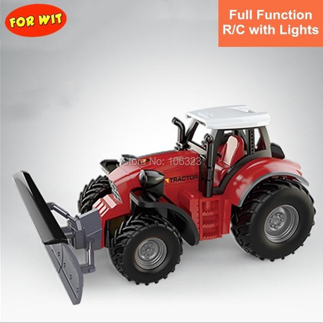RC Mini Farmer Car, Die-Casting Farm Tractors, Craze Match New Driving Emotion Radio Control Car Run Rac, Super Impetus R/C Toys 1