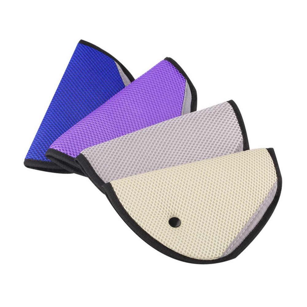 Peças da criança do veículo do carro que protegem crianças ajustador capa de segurança cinta ajustador almofada cinto de segurança clipe para crianças bebê #