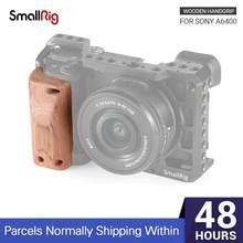 Деревянная ручка SmallRig a6400 для камеры Sony A6400, быстросъемная деревянная рукоятка 2318