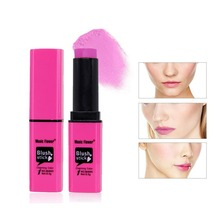 6 Colors Pink Blush Cream Blush Stick Brightening Complexion Not Blooming Facial Beauty Mak