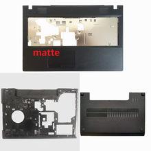 Новая передняя крышка для ноутбука Lenovo G500 G505 G510 G590/Нижняя крышка корпуса для ноутбука черная серия