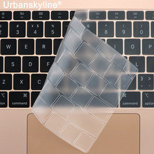 Teclado capa para macbook air 13 11 pro 13 16 barra de toque id 15 17 12 retina silicone tpu protetor pele ue a2179 a2337 a2338 m1