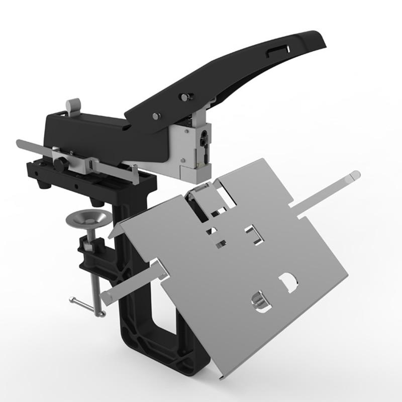 SH-04 manual saddle stitch stapler a3 saddle stitch center seam stapler heavy duty-saving flat staple stapling
