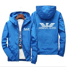 2021 spring and summer fashion men's women's bomber jacket light casual jacket windbreaker thin zipper new
