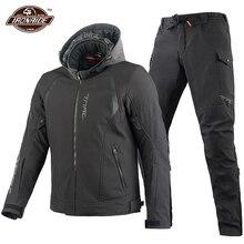 Waterproof Motorcycle Jacket Men Chaqueta Moto Suit Windproof Motocross Jacket Motorbike Riding Clothing Set Protective Gear