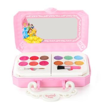Disney snow White Makeup Toy set Girls Disney frozen Princess Elsa Anna Pretend Play Fashion Toys недорого