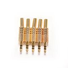 5 шт 35 мм стерео аудио разъем mini 1/8 дюймов для наушников