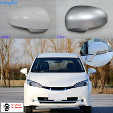 HengFei voiture accessoires rétroviseur couverture pour Toyota souhait 2009 ~ 2017 modèles rétroviseur boîtier avec clignotant