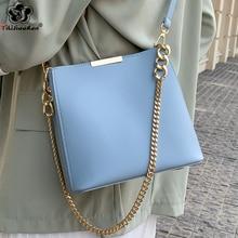 цена на Fashion Chain Shoulder Messenger Bag High Quality Pu Leather Crossbody Bags for Women Luxury Handbags Women Bags Designer 2020