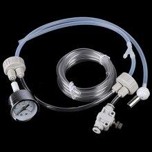 Аквариум DIY CO2 генератор системы комплект с регулировкой потока воздуха давления воды тихий фильтр-водопад для аквариума клапан диффузор продукты