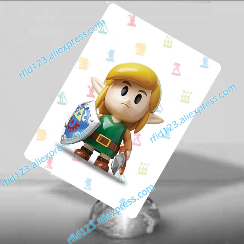 Link's Awakening <font><b>amiibo</b></font> <font><b>Card</b></font> The Legend of <font><b>Zelda</b></font> image