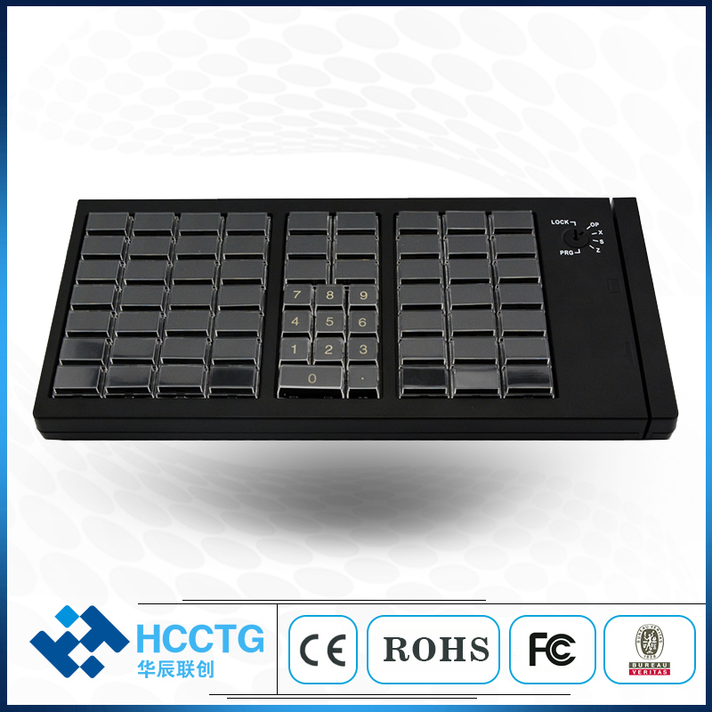 USB Programmable Keyboard POS Mechanical Keyboard KB66U