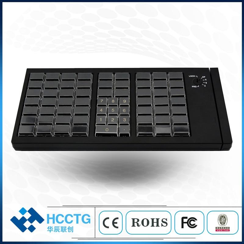 USB Programmable Keyboard POS Mechanical Keyboard KB66U
