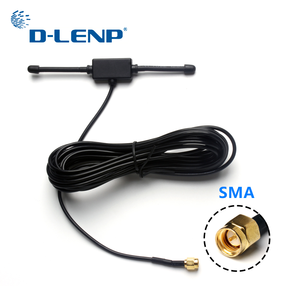 Dlenp 433 MHz Long Range Antenna 433mhz Patch Antenna Ham Radio SMA Male 3m Cable