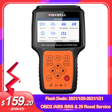 Code-Reader Car-Diagnostic-Tool Obd2-Scanner Oil-Reset DPF SRS Professional Foxwell Nt650