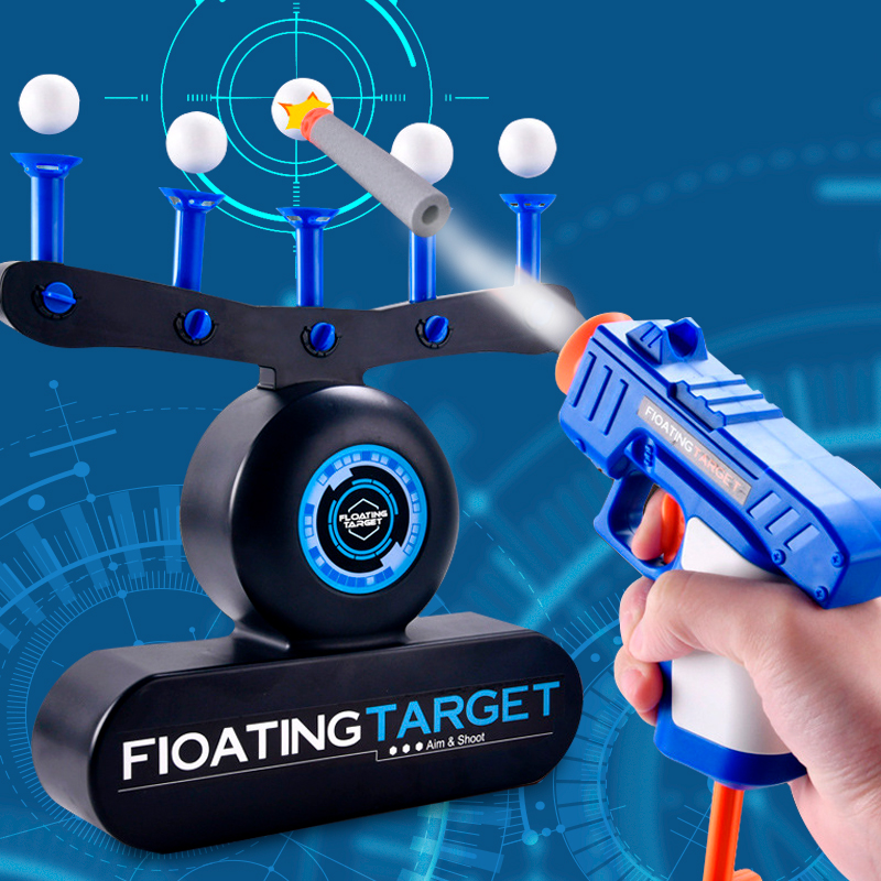 Floating Ball Shooting Game Air Hover Shot Floating Target Game For Holiday Season & Parties Fun Party Supplies Toys For Kids