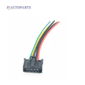 Wiring Harness Loom Cable Connector For Peugeot 206 307 Citroen C3 Xsara Blower Motor Heater Resistor 6450JP image